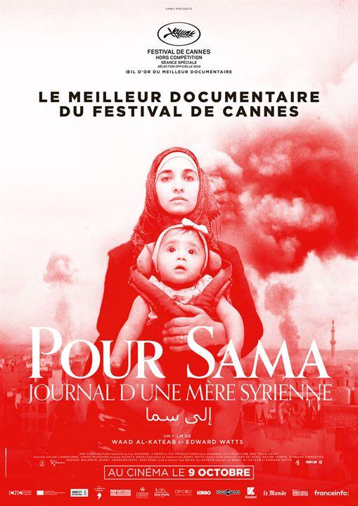 Pour Sama : Affiche