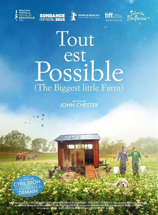 Tout est possible (The biggest little farm) : Affiche