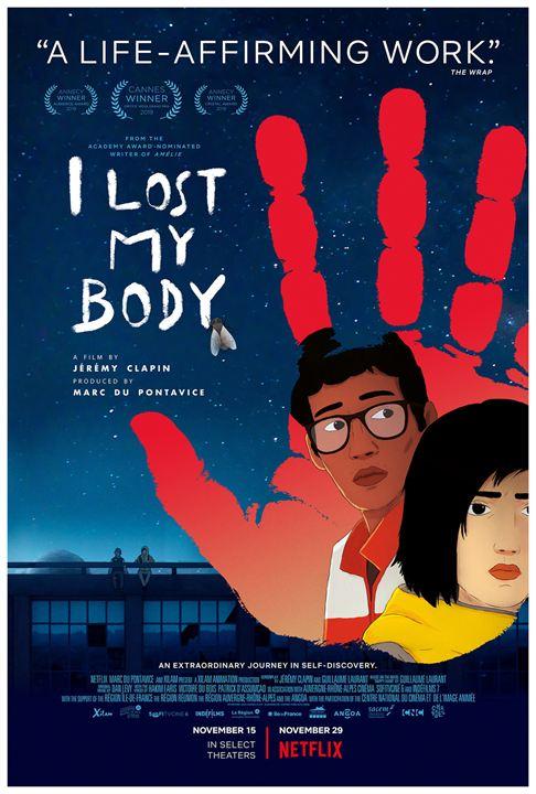 J'ai perdu mon corps : Affiche