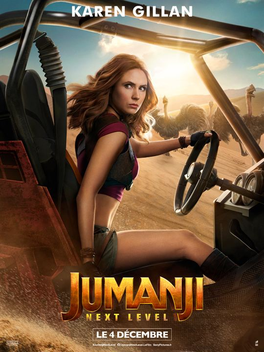 Jumanji: next level : Affiche Karen Gillan