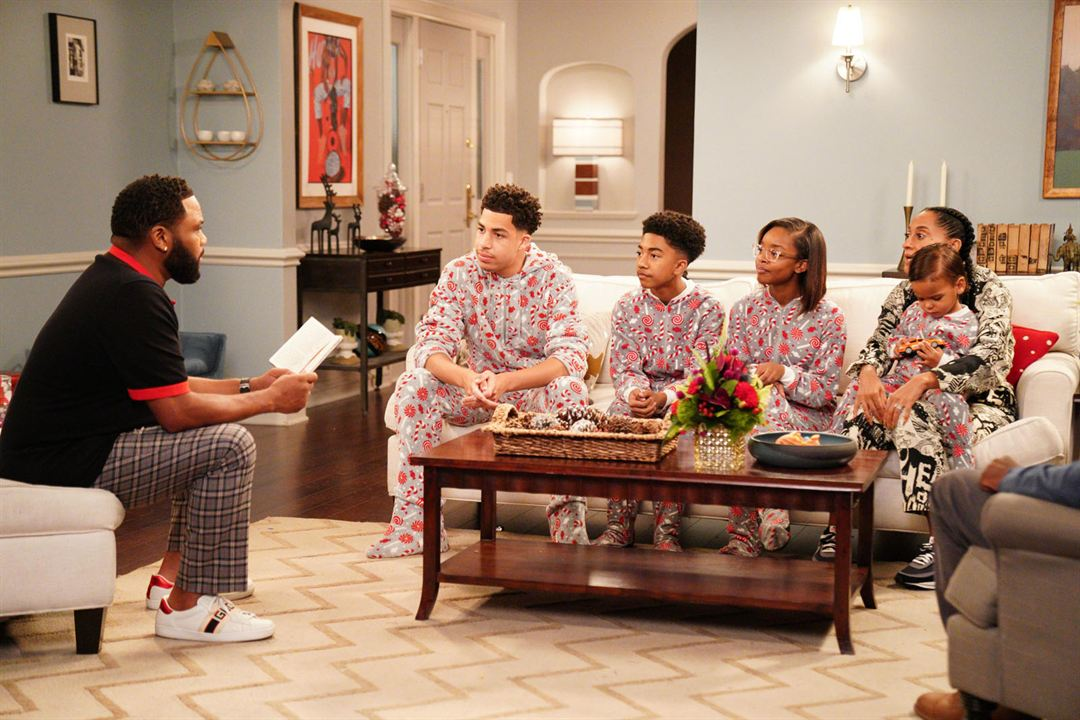 Photo Anthony Anderson, August Gross, Berlin Gross, Marcus Scribner, Marsai Martin