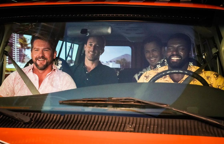 Photo Alex O´Loughlin, Jay Hernandez, Stephen Hill (VII), Zachary Knighton