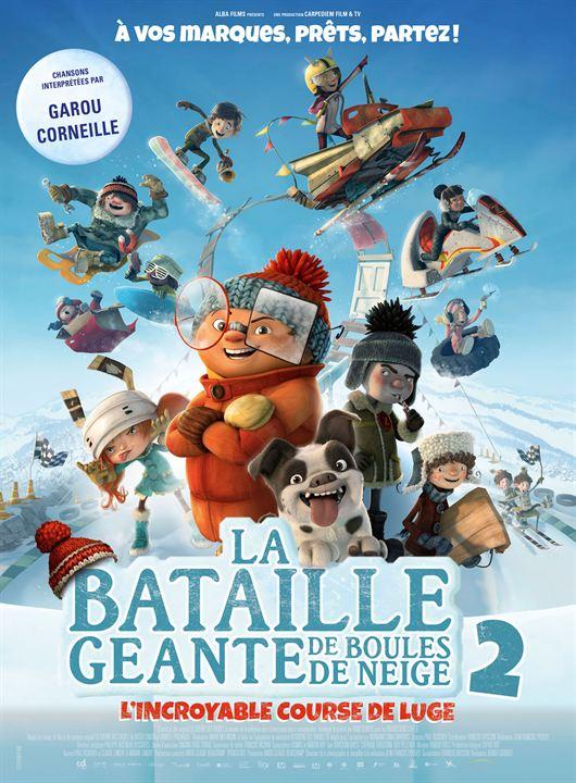 La Bataille géante de boules de neige 2, l'incroyable course de luge : Affiche