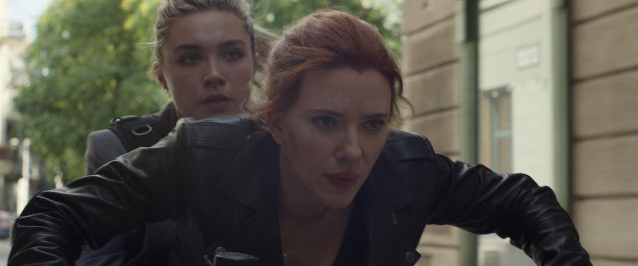 Black Widow : Photo Florence Pugh, Scarlett Johansson