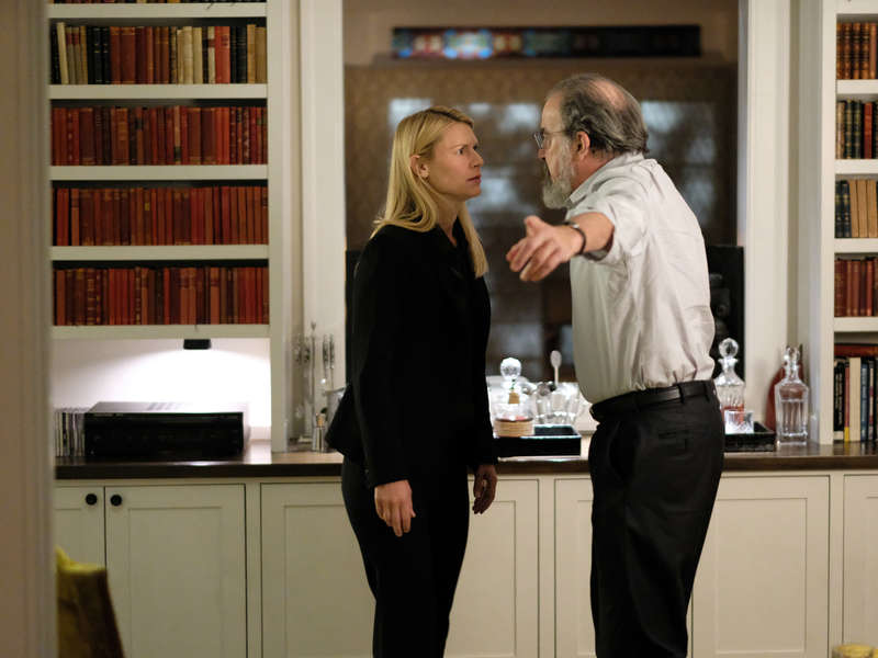 Photo Claire Danes, Mandy Patinkin