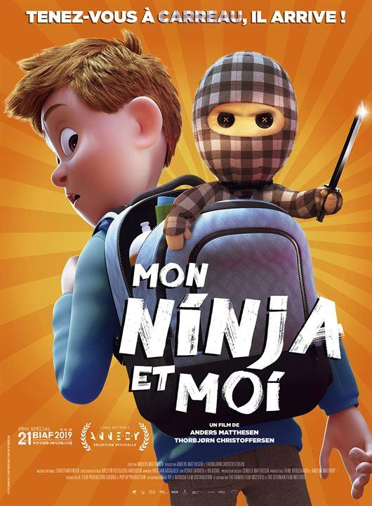 Mon ninja et moi : Affiche