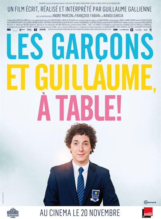 Affiche du film les gar ons et guillaume table affiche 1 sur 1 allocin - Musique film guillaume et les garcons a table ...