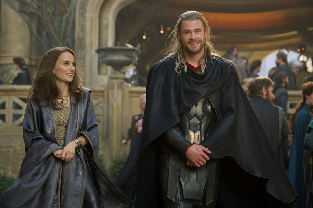 Thor : Le Monde des ténèbres : Photo Chris Hemsworth, Natalie Portman
