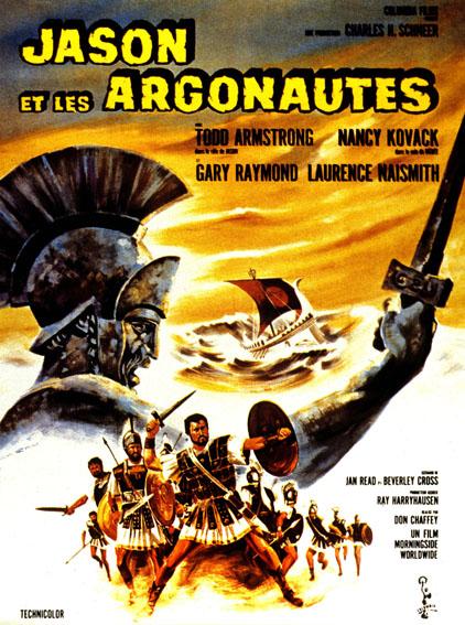 Jason et les Argonautes : Affiche