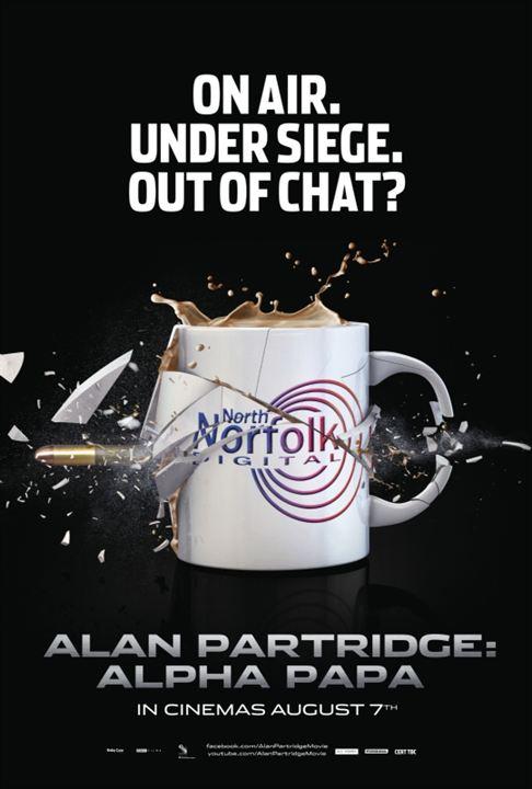 Alan Partridge: Alpha Papa : Affiche