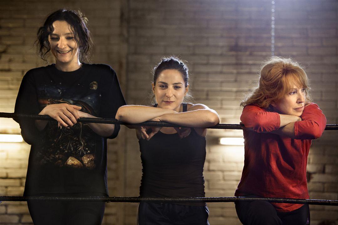 Les Reines du ring : Photo Corinne Masiero, Marilou Berry, Nathalie Baye