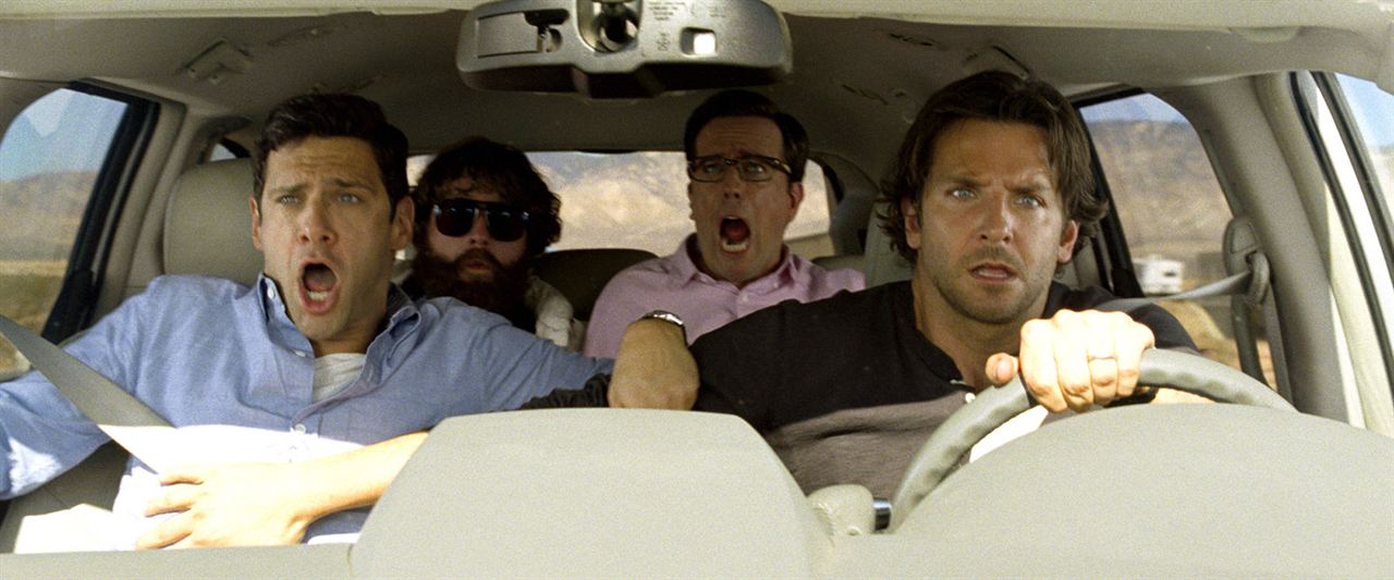 Very Bad Trip 3 : Photo Bradley Cooper, Ed Helms, Justin Bartha, Zach Galifianakis
