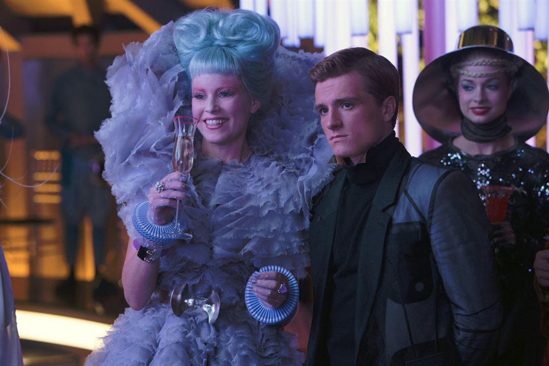 Hunger Games - L'embrasement : Photo Elizabeth Banks, Josh Hutcherson