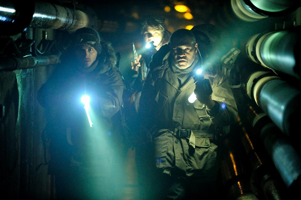 The Colony : Photo Kevin Zegers, Laurence Fishburne
