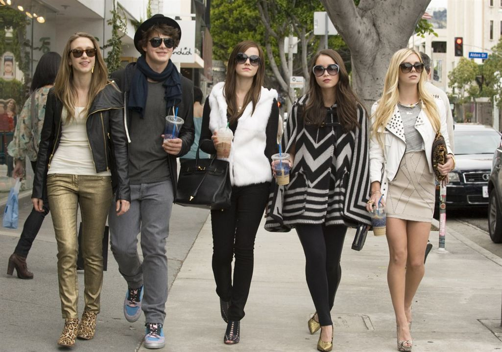 The Bling Ring : Photo Claire Julien, Emma Watson, Israel Broussard, Katie Chang, Taissa Farmiga