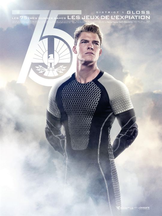 Hunger Games - L'embrasement : Affiche Alan Ritchson