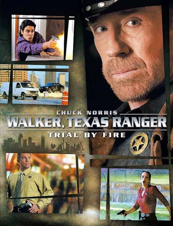 Walker, Texas Ranger: Trial by Fire : Affiche