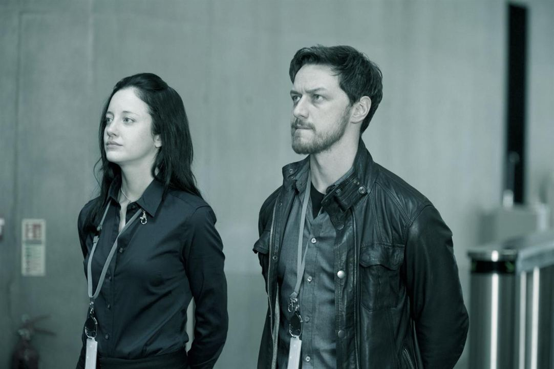 Welcome to the Punch : Photo Andrea Riseborough, James McAvoy