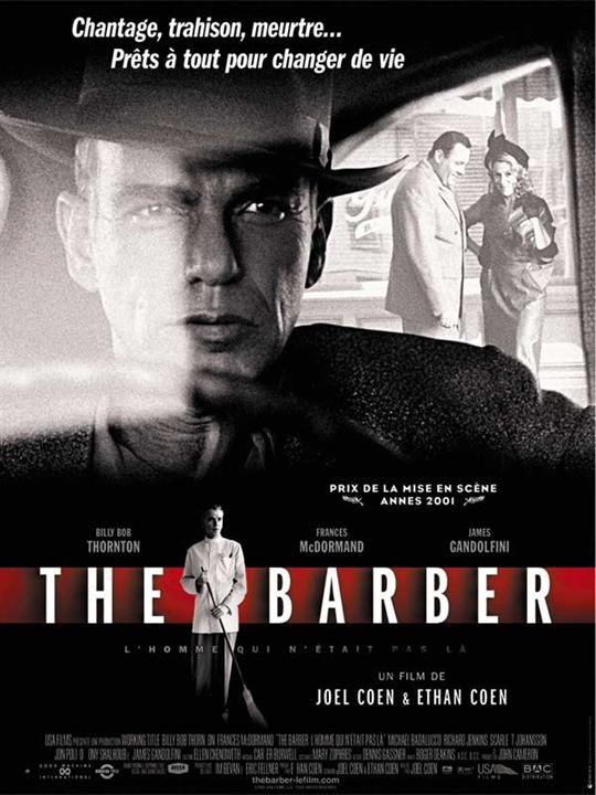 The Barber : l'homme qui n'était pas là : Affiche