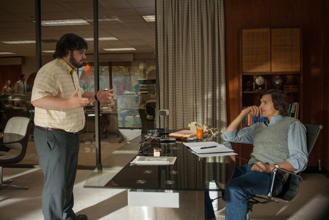 Jobs : Photo Ashton Kutcher, Josh Gad