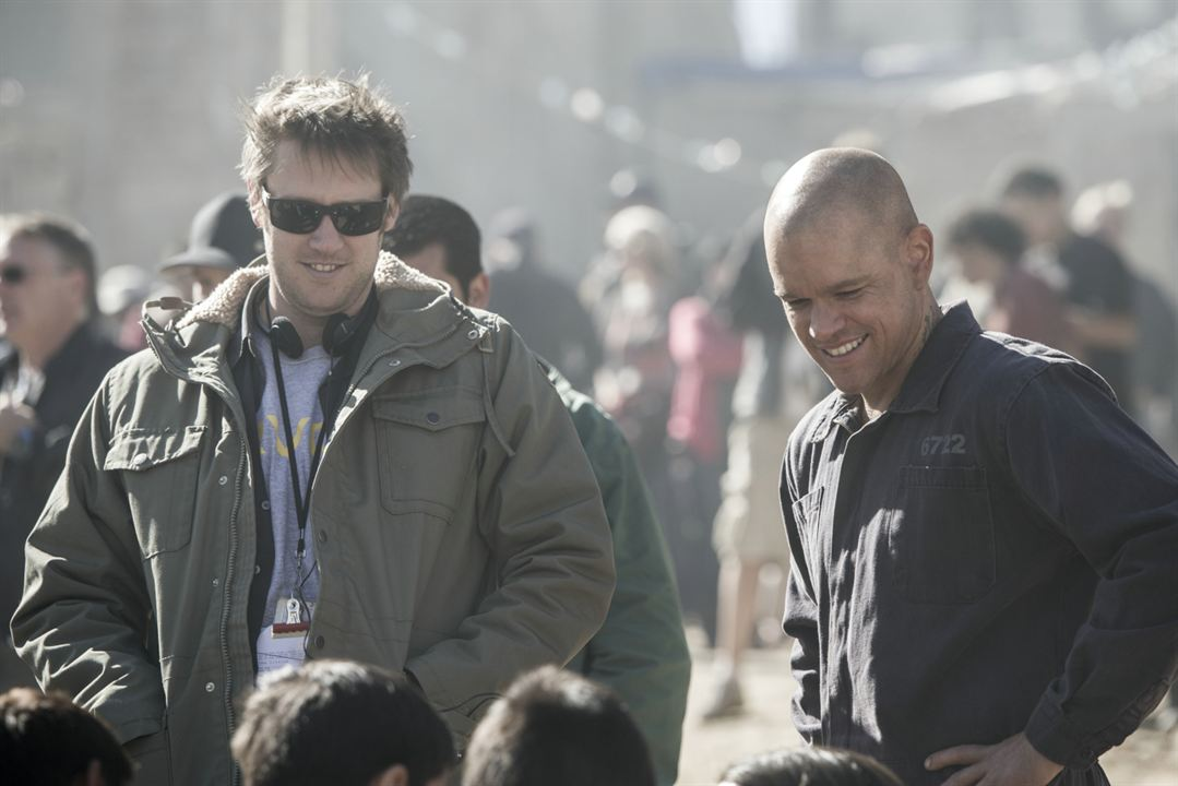 Elysium : Photo Matt Damon, Neill Blomkamp