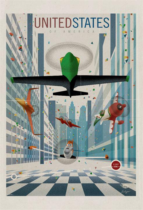 Planes : Affiche