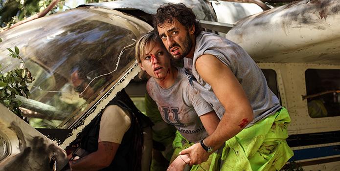 The Green Inferno : Photo Ariel Levy, Lorenza Izzo