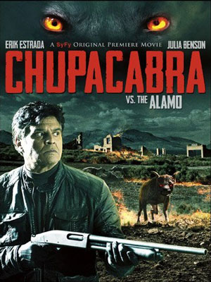 Chupacabra vs. the Alamo : Affiche