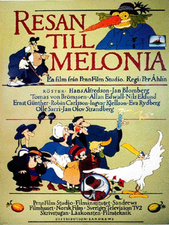 Voyage à Melonia : Affiche