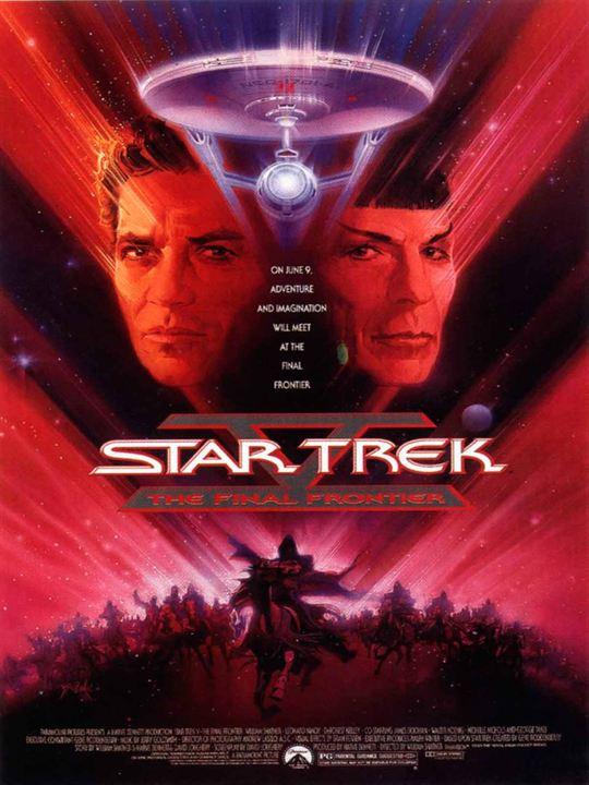 Star Trek V : L'Ultime frontière : Affiche