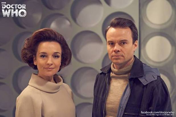 An Adventure In Space and Time : Photo Jamie Glover, Jemma Powell