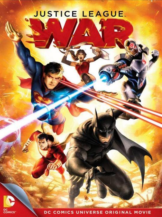 La Ligue des justiciers : Guerre : Affiche