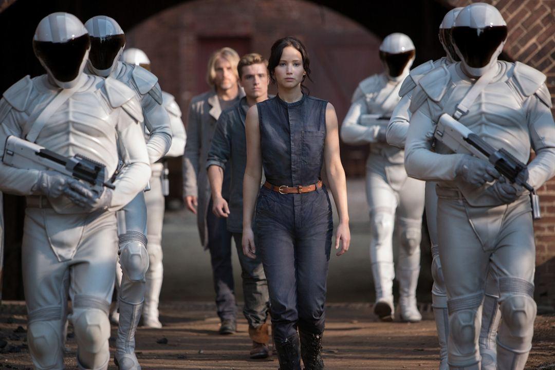 Hunger Games - L'embrasement : Photo Jennifer Lawrence, Josh Hutcherson, Woody Harrelson