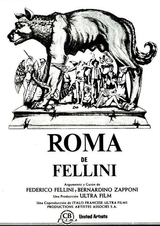 Fellini Roma : Affiche