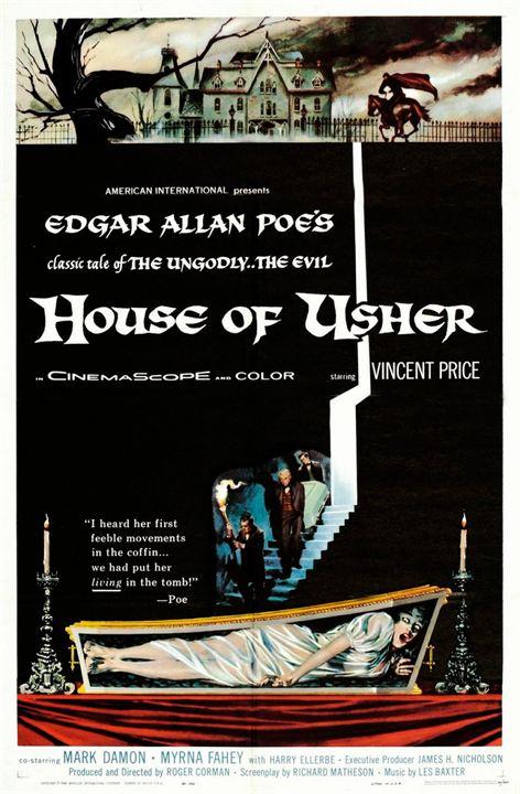 La Chute de la maison Usher : Affiche