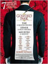 Gosford Park poster