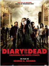 Diary of the Dead - Chronique des morts vivants affiche