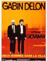 Deux hommes dans la ville poster