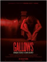 The gallows affiche