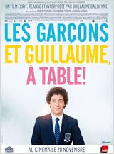 Les Gar�ons et Guillaume, � table ! en streaming