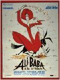Ali Baba et les 40 voleurs 1954 affiche