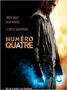 Numéro quatre [4] (I Am Number Four) affiche