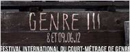 Genre III &#8211; Le Festival du court de genre ressort de sa tombe