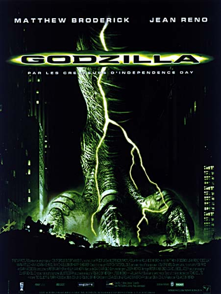 Download Godzilla FRENCH Poster