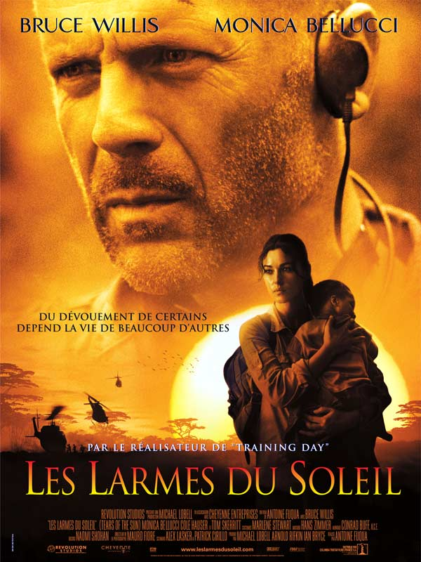 Download Les Larmes du soleil FRENCH Poster