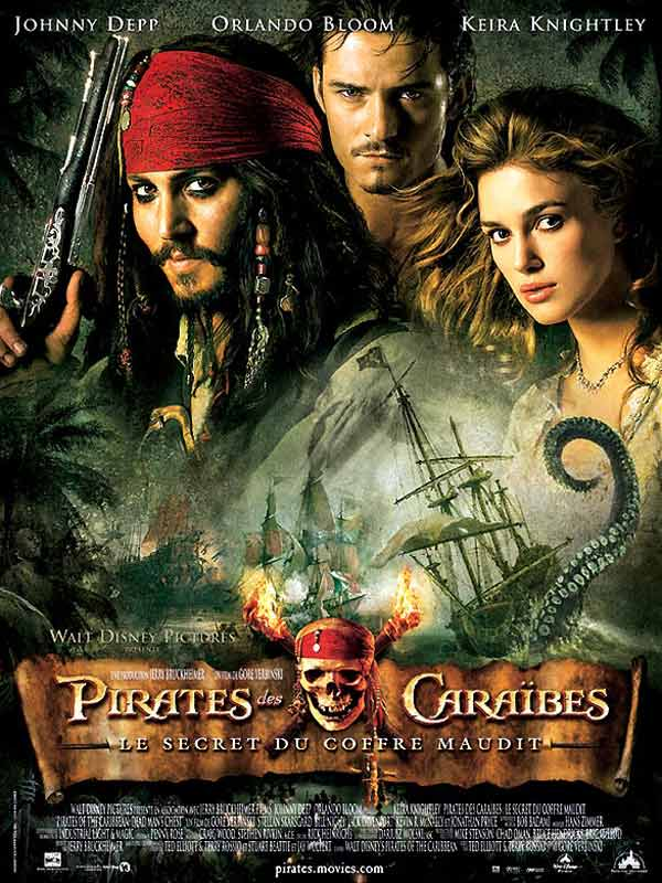 Pirates des Caraïbes : le Secret du Coffre Maudit en streaming