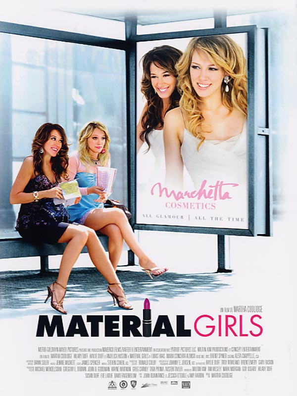 Material Girls FRENCH Movie Poster
