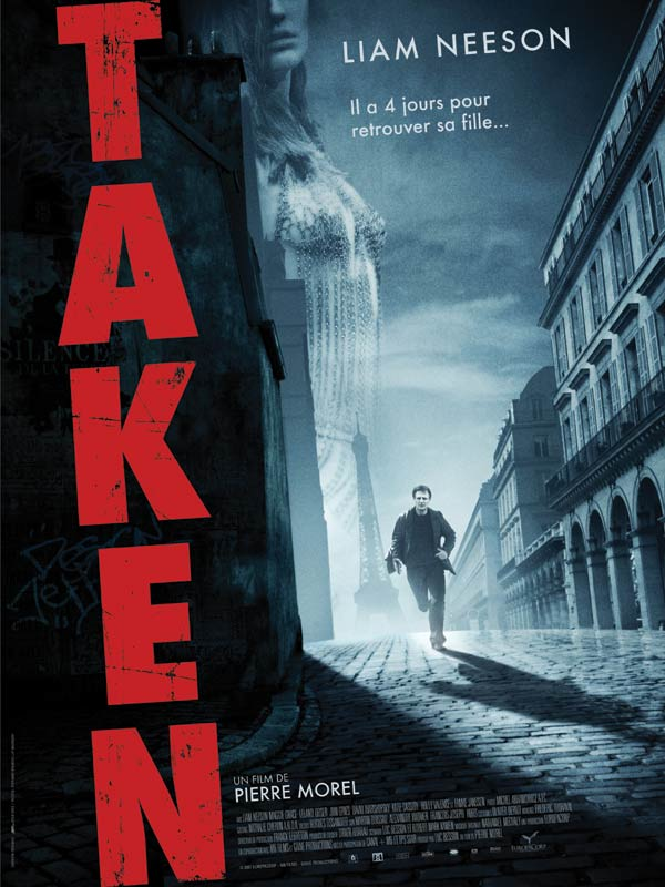 Download Taken FRENCH Poster
