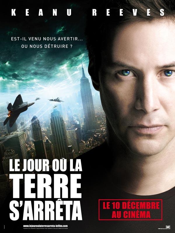 Le Jour où la Terre s'arrêta FRENCH movie poster