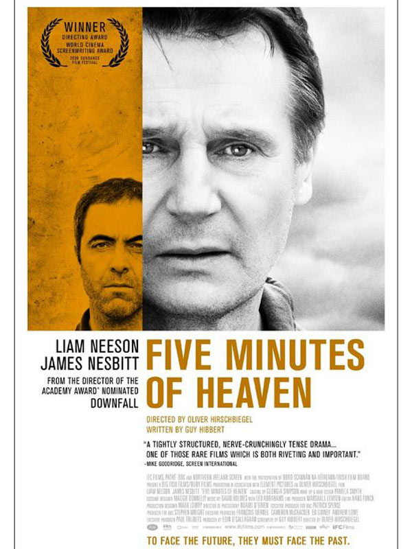 Five Minutes Of Heaven FRENCH Movie Poster
